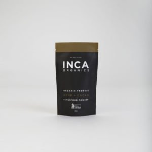 INCA ORGANICS CERTIFIED ORGANIC WHEY OR PLANT BASED PROTEIN POWDERS (SACHETS 30g -VARIOUS FLAVOURS)