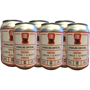 075. FiRE TONiC ® Traditional Switchel – Lemon & Ginger – x6 pack [330ml Cans]
