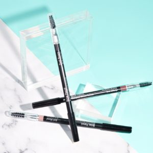 australian vegan makeup Alluring Minerals Waterproof mineral brow pencil with spoolie cruelty free makeup brand buy online at Yo Life