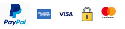 Secured Payments on PayPal | Mastercard | Visa | Amex