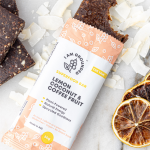 Lemon, Coconut & Coffee Fruit Bars (10) Box
