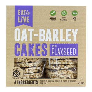 OAT – BARLEY CAKES with Flaxseed