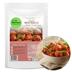 Chunky Meatballs in a Herbed Tomato Sauce